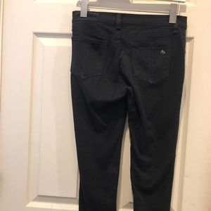 rag & bone Jeans - Rag & Bone black stretch skinny jeans